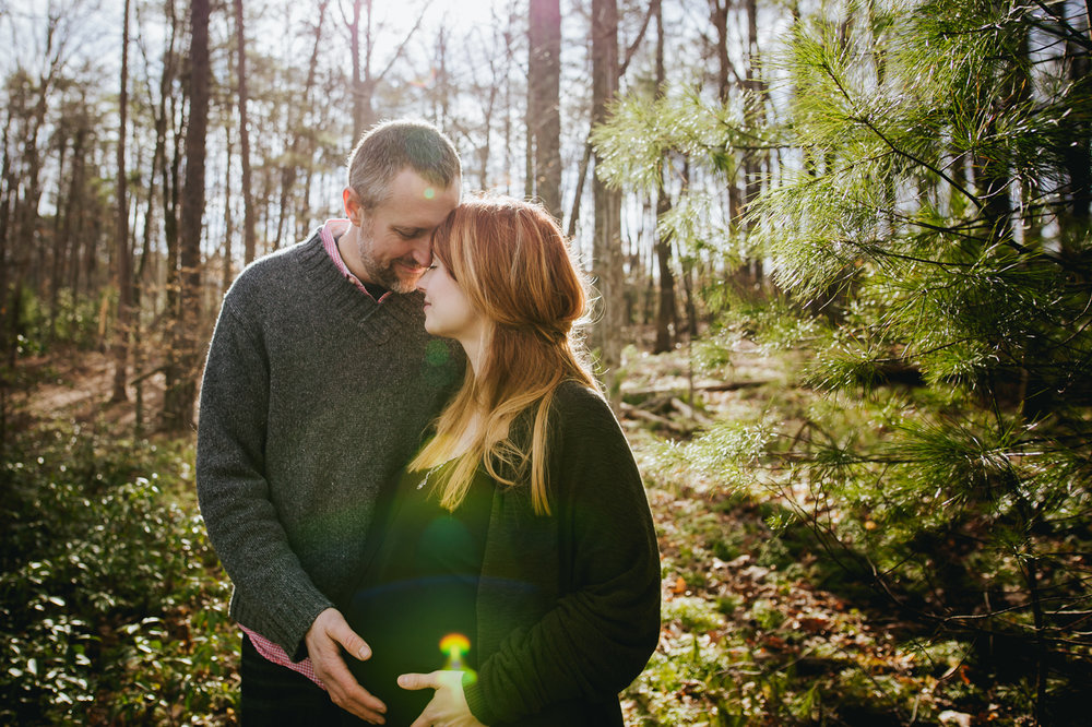 forest-maternity-photography