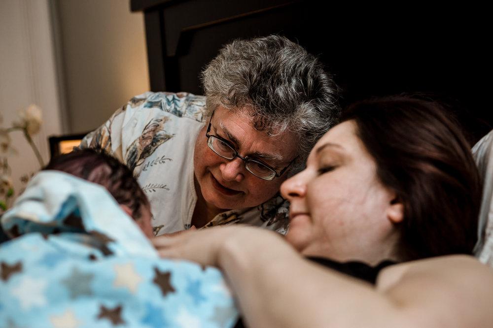Grandma Meets Grandson