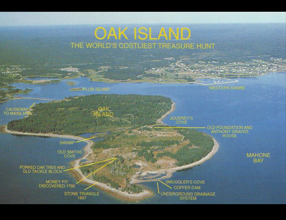 What Is The Legend Of Oak Island