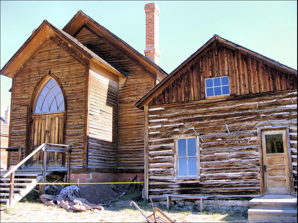 Methodist Church in Bannack