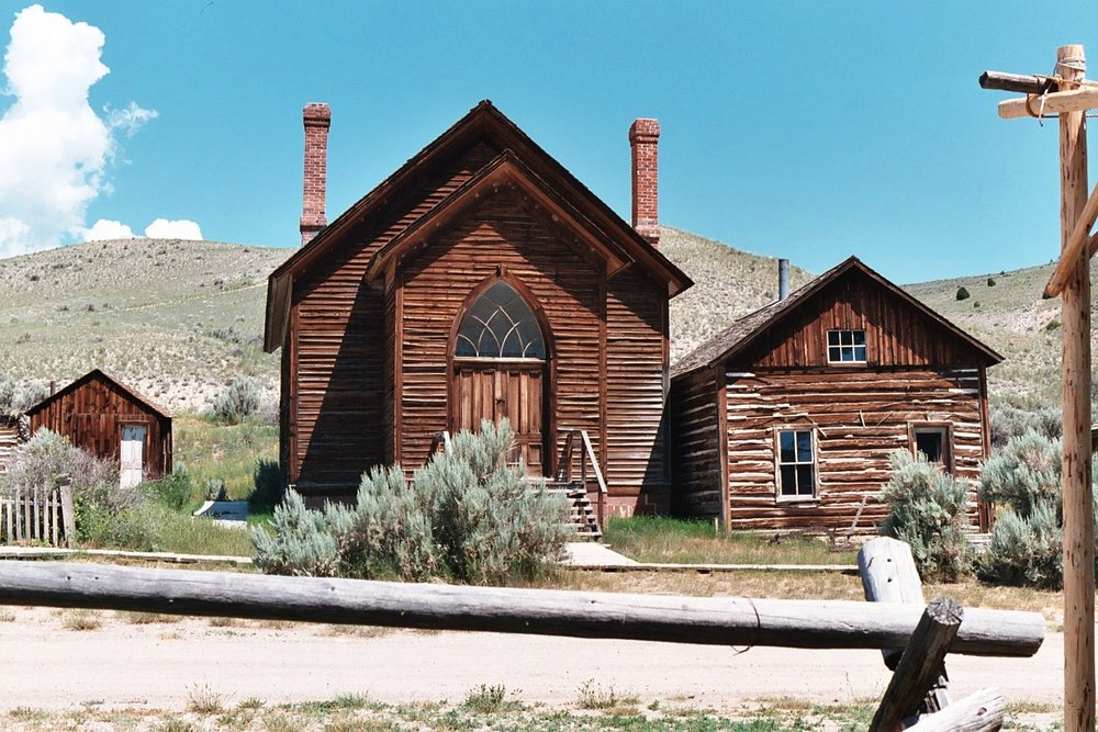 Bannack's Methodist church