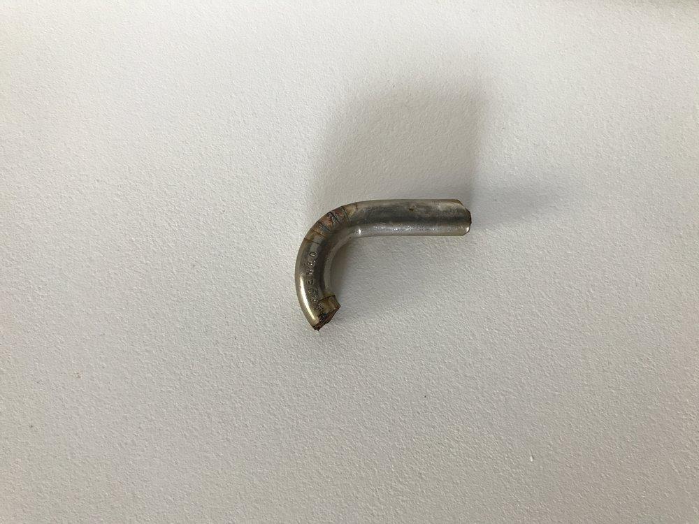 Piece of padlock