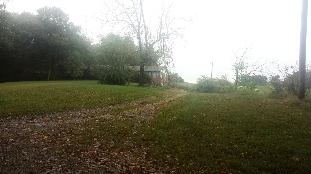 Site of the former Hopson residence