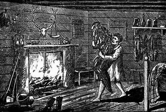 William Porter attempts to burn the Bell Witch