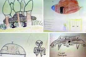 Ariel Incident Kids Eyewitness Drawings