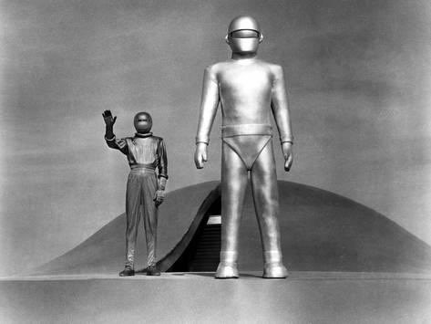 Publicity Shot - The Day the Earth Stood Still