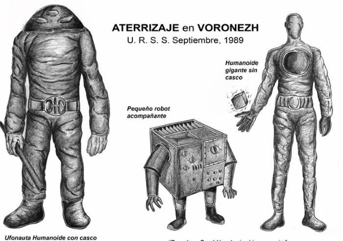 The Voronezh Alien Beings