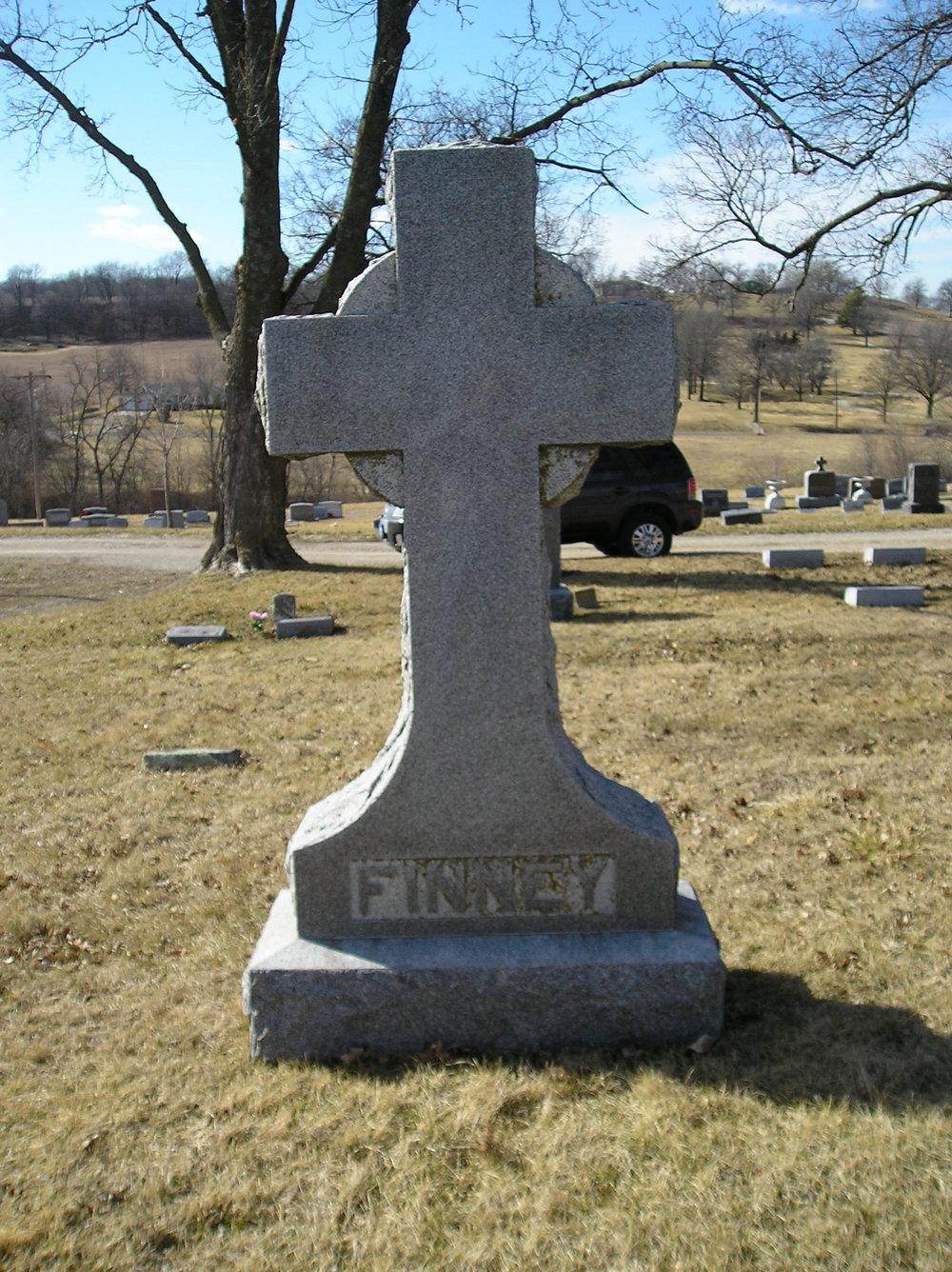 Finney Grave Marker.JPG