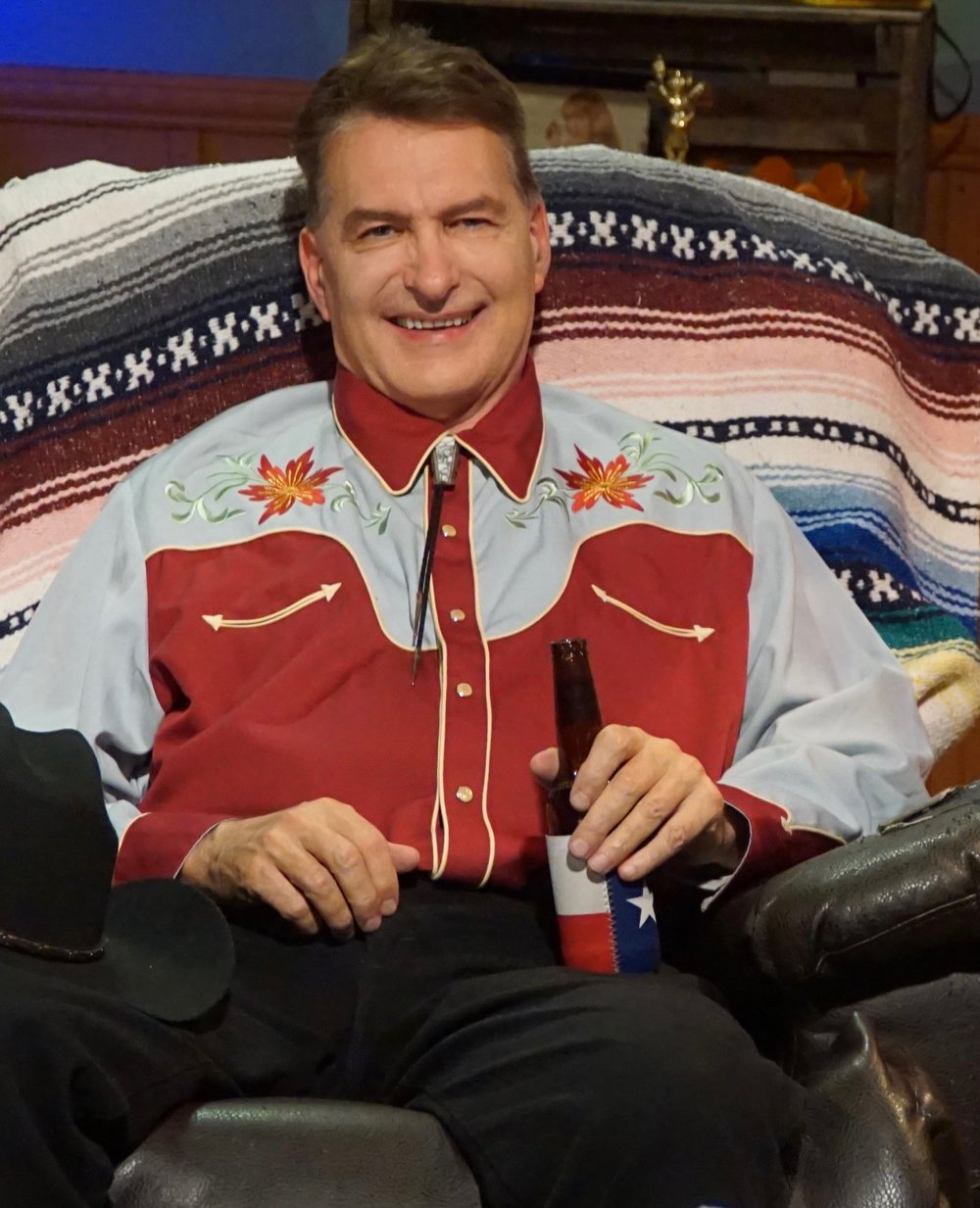 "Author and film critic, ""Joe Bob Briggs"" (John Irving Bloom)"