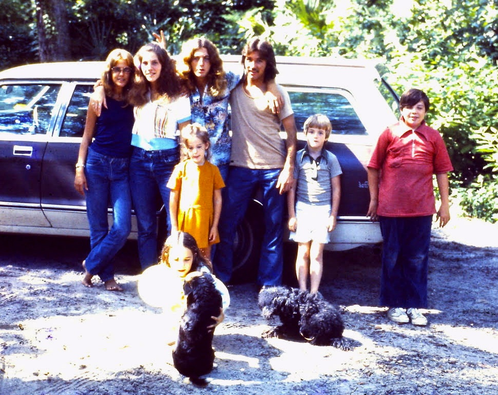 The family Station Wagon used to transport the sphere home.  Image courtesy of the Betz family. All Rights Reserved – Do not reproduce.