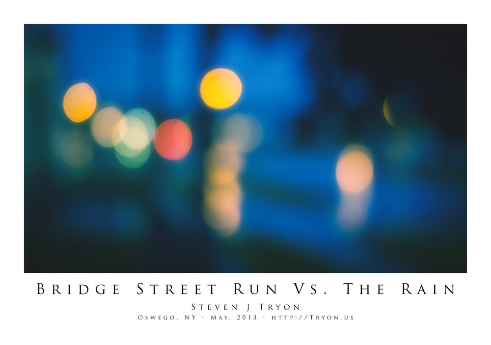 Bridge Street Run Vs. The Rain