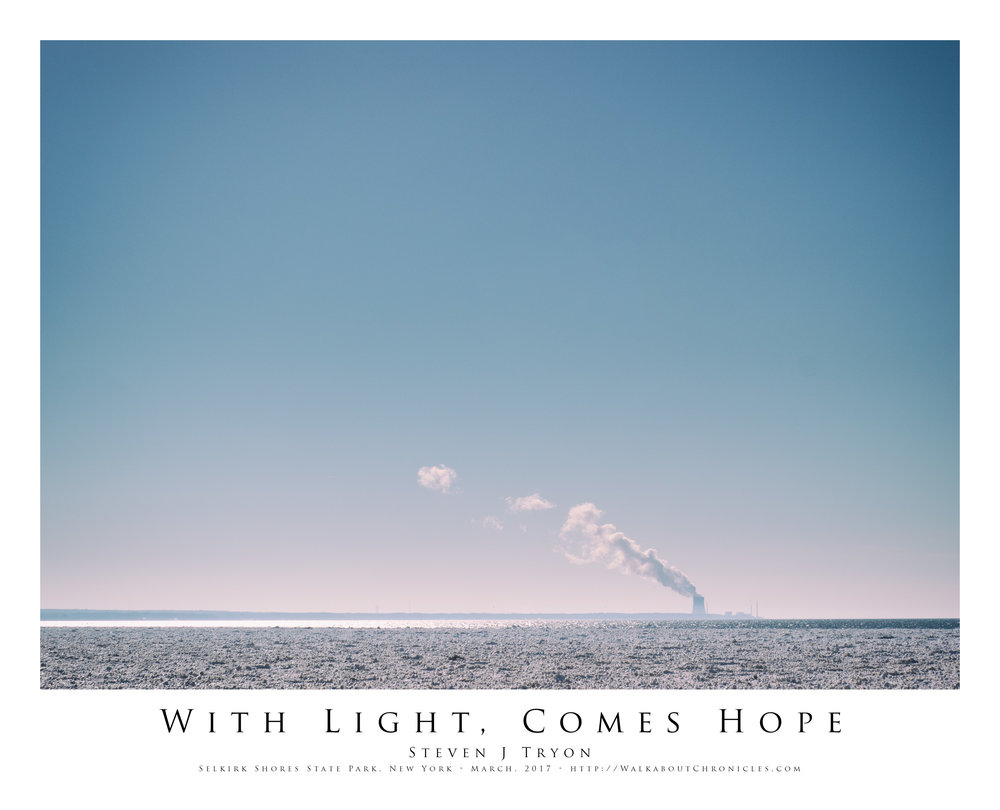 With Light, Comes Hope