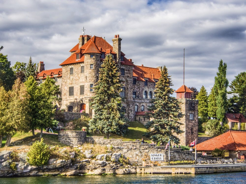 A fabulous day touring Castles in the Thousand Islands