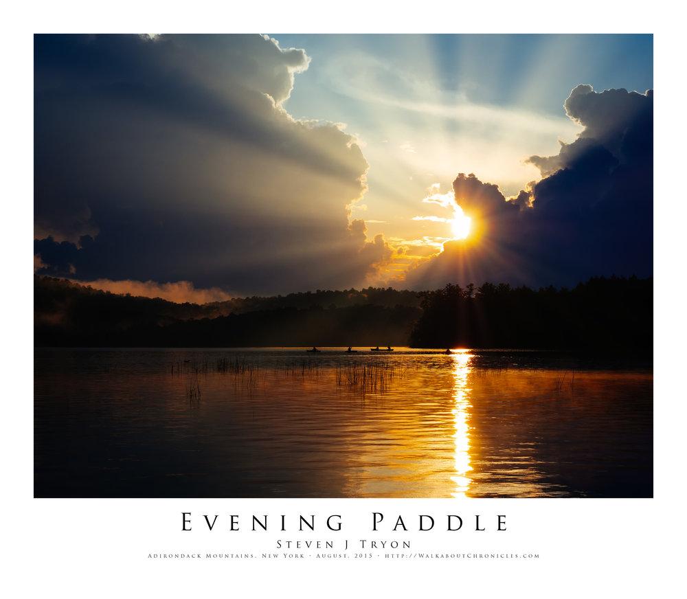 Evening Paddle