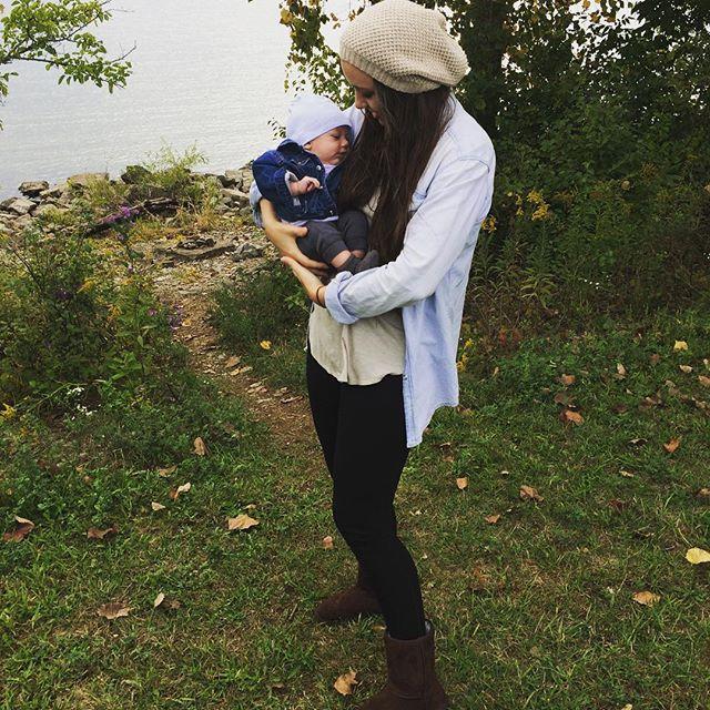 🍂🍂 You will always be my baby 🍂 🍂#poisonedlaceboutique #babyboy #lake #fishing #fall #fallvibes #boutiquefashion #grunge #fashion #shopwithme #alumcreek #ohiogram #newmom #instamom #tattooedmom #coolmom #naturelover #outdoors #mermaidhair #snugglebug #sundaymood #latergram #weekendstyle #denimshirt #beanie #knitwear