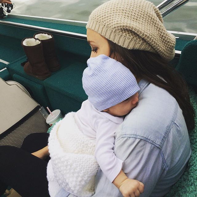 No one could've prepared me for this kind of love. 🍁 #poisonedlaceboutique #newmom #boymom #iloveyou #loveofmylife #instamom #fallvibes #fall #autumn #autumnvibes #bohemian #wanderlust #love #myson #momlife #babyboy #baby #boating
