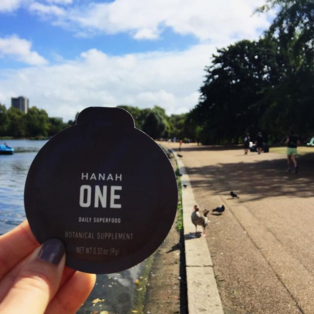 Mile 15 fuel. Travel packs of HANAH One are perfect for endurance work-outs, with a base of ghee among 34 ingredients that quickly deliver energy through a mix of Ayurvedic herbs, fats and carbohydrates designed to maximize the body's potential #hanahone #hanahliving #wanderfueled #marathontraining
