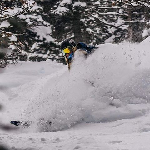 No shortage of pow shots this season!!