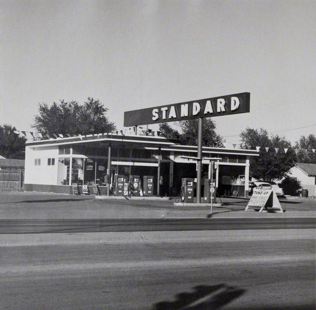 Standard, Amarillo, Texas  Ed Ruscha, 1962
