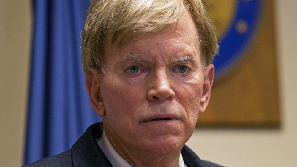 David Duke, nothing funny about this guy.