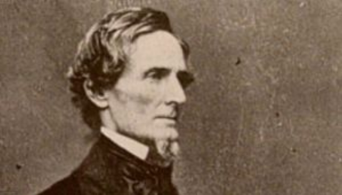 Jefferson Davis, president of treason, slavery, racism, and extreme entitlement...for 4 years.