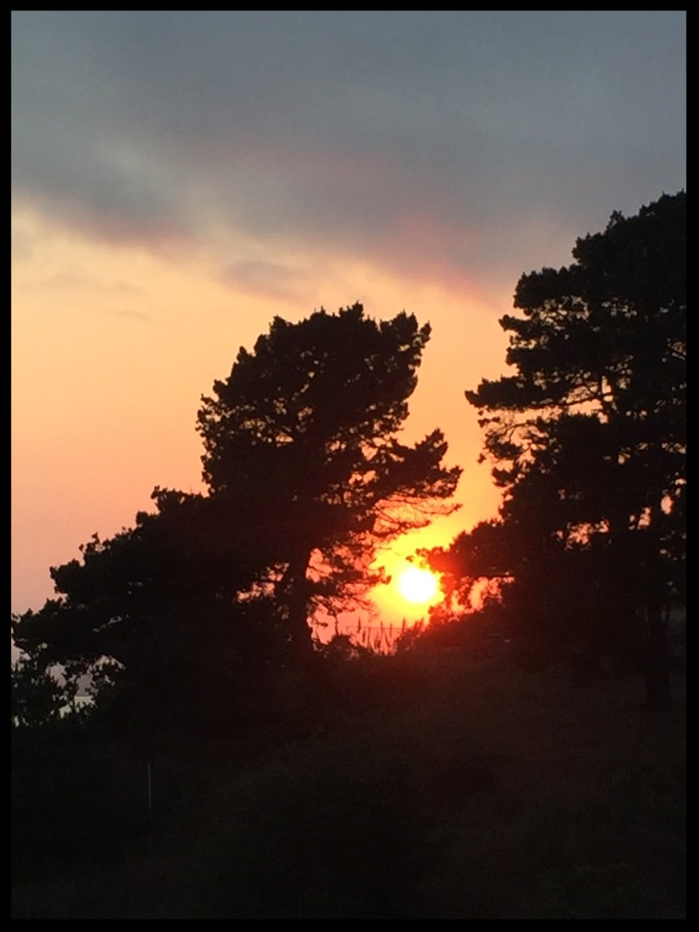 Sunset in Aptos, California