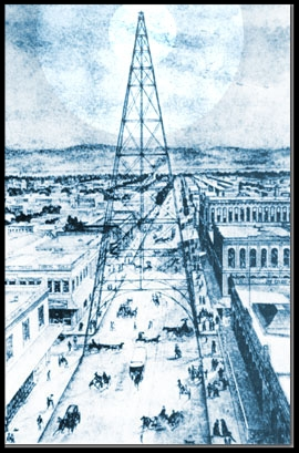 The San Jose Electric Light Tower