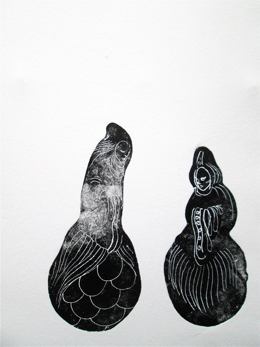 Jan Sajdak Babuszki grafika 30 na 50 cm.jpg