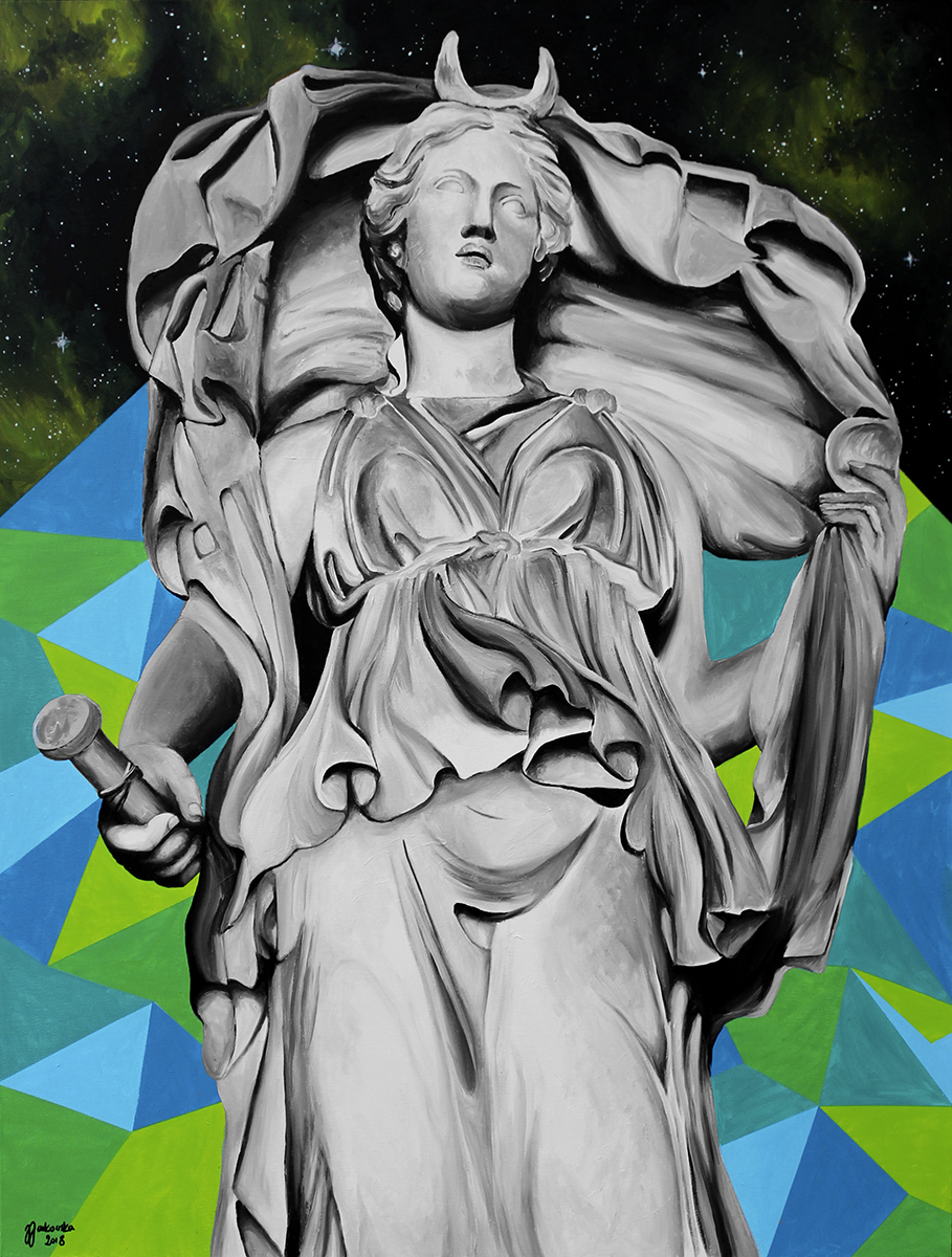 Zuzanna Zu Jankowska, Selene, akryl na płótnie, 120x90.jpg