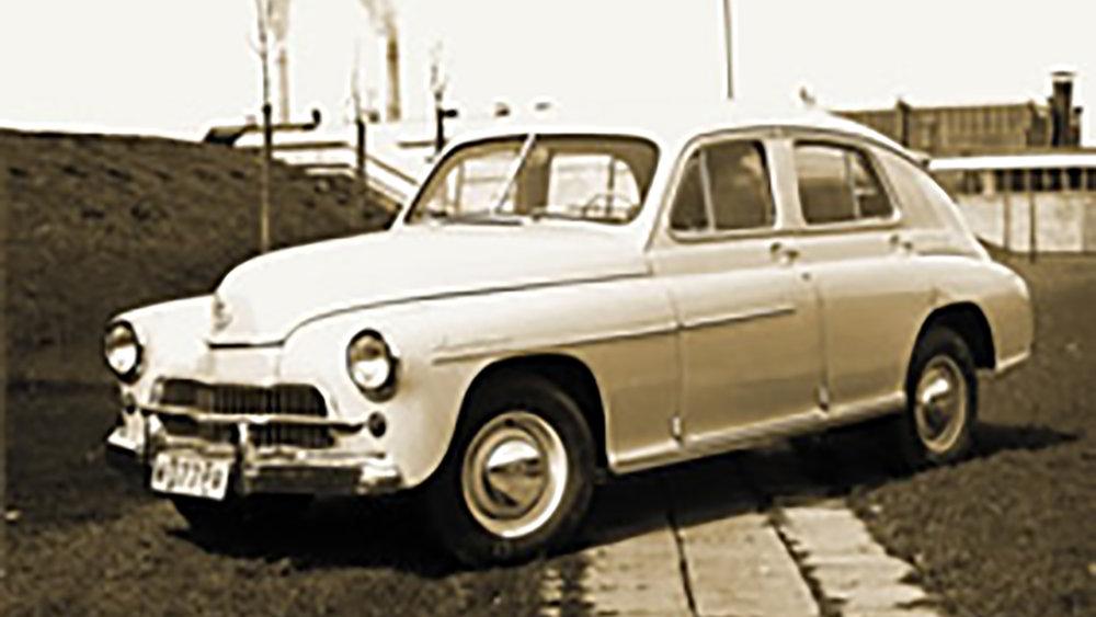 6 listopada 1951r. - Rozpoczęcie działalności. Uruchomienie produkcji samochodu Warszawa M-20 | Zdjęcie: Archiwum FSO