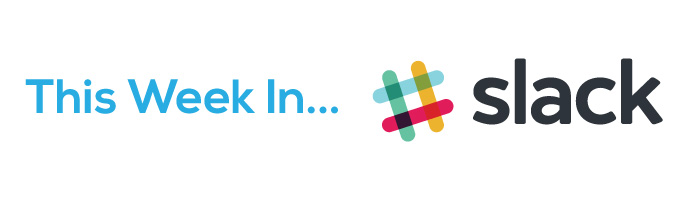 Graphic of the Slack logo which is inviting users to join the Bezlio Slack community.