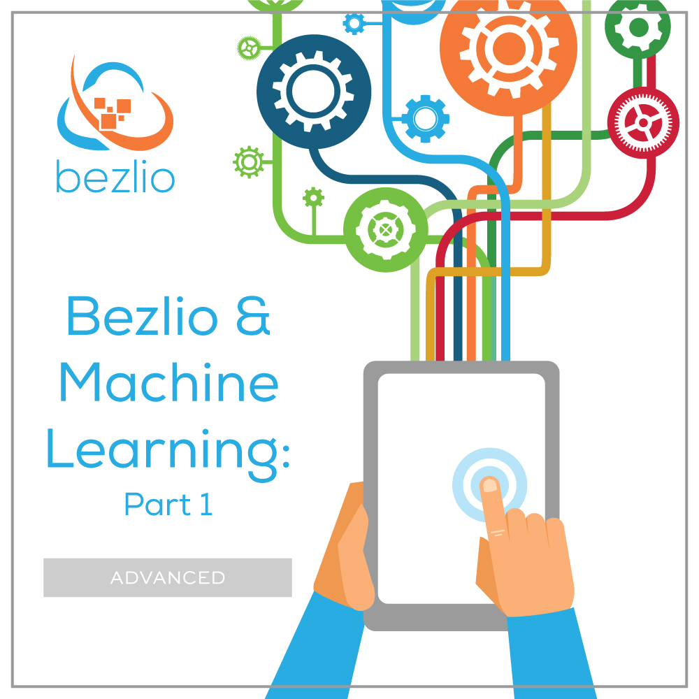 Image of someone pressing a mobile tablet and accessing data from multiple sources. This is the title image of a blog post that describe's Bezlio's ability to give predictive analytics to manufacturing organizations.
