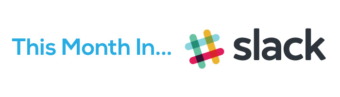 Slack logo that represents the newsletter section that shares highlights from the Bezlio Slack channel.