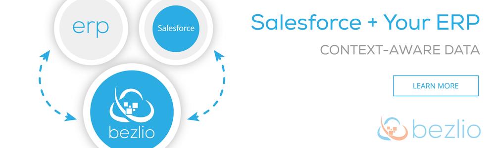 Salesforce + ERP