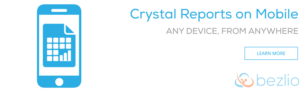 Crystal Reports on Mobile Devices