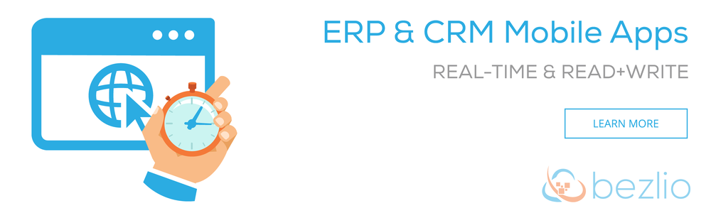 ERP & CRM Mobile Apps: Real-time and Read + Write Access