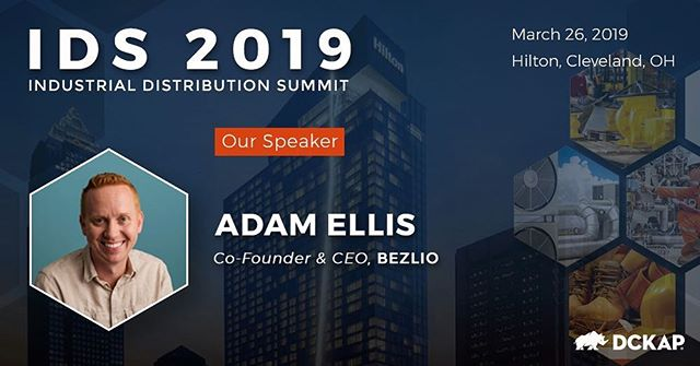 Will we see you at #IDS2019? Adam will discuss turning your field service workers into e-commerce agents. See details & register at ids.dckap.com!