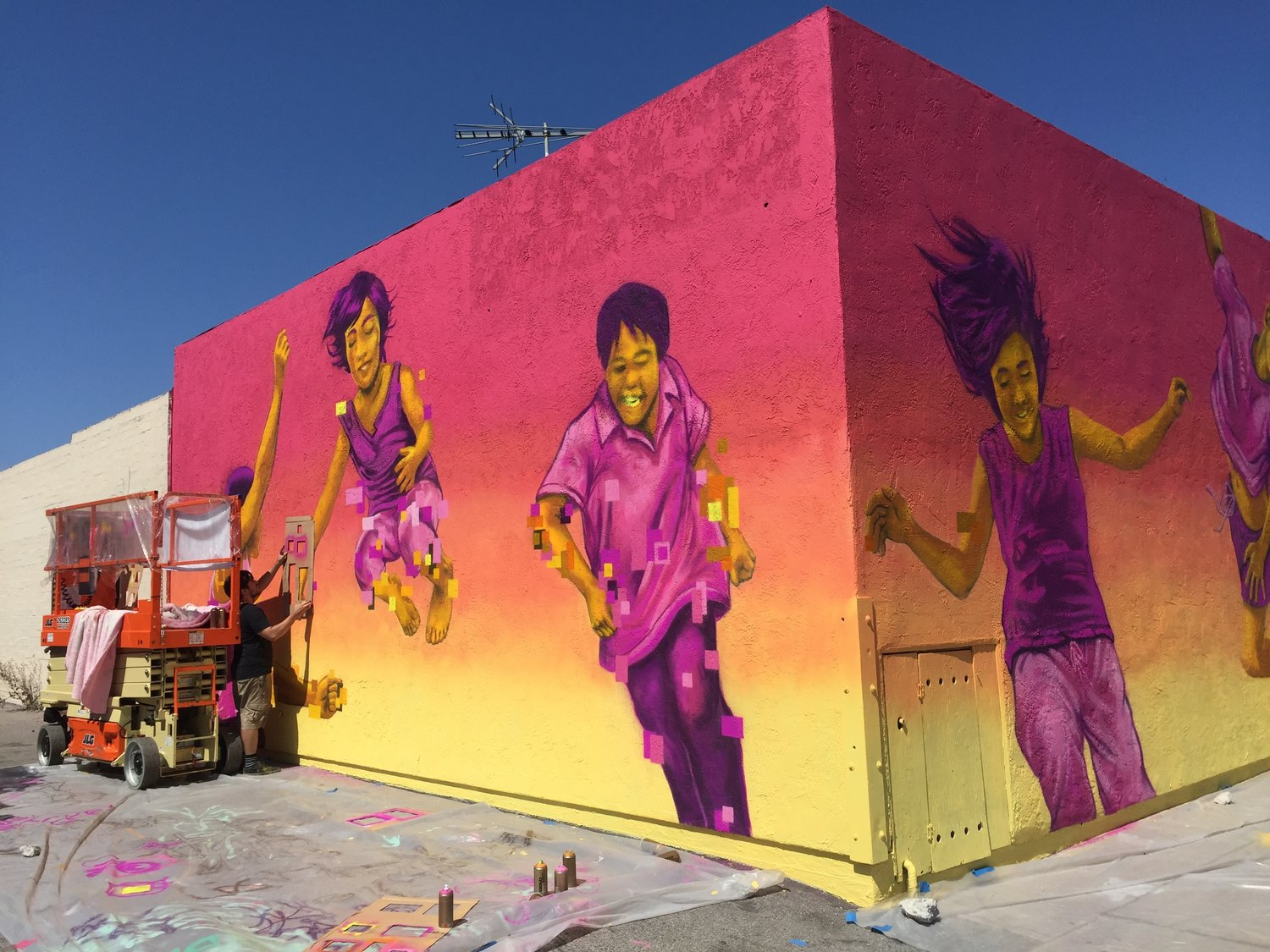 2017 Pow Wow Mural Festival Pacific Collective