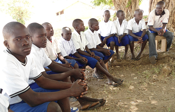 """Strengthening internal assets: increase knowledge, self-efficacy and awareness of rights - """"[GREAT] teaches us about children's rights and how to be good children in the community…I have learned about my right to study, to live in a peaceful environment, and not to be abused physically or verbally."""" 10 YEAR-OLD FEMALE ADOLESCENT"""