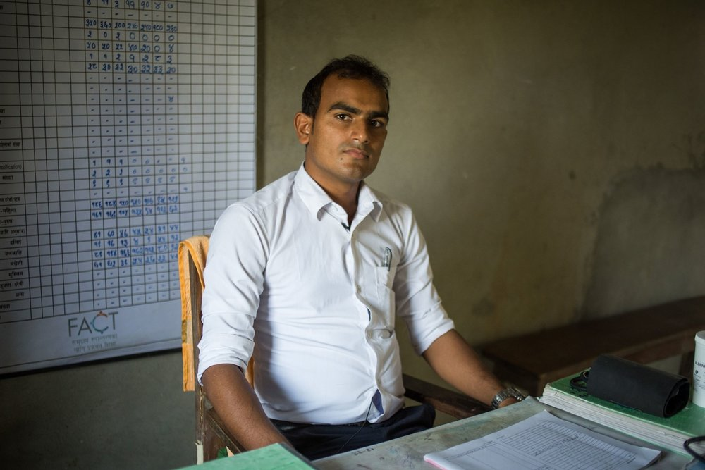 """- """"People used to blame women, thinking that they had a role in deciding the gender of the child. But most people know now, because of the program, that it is mainly men who determine the gender and no one is to blame. I feel that this is one of the biggest changes.""""KULDIP YADAV, HEALTH ASSISTANT"""
