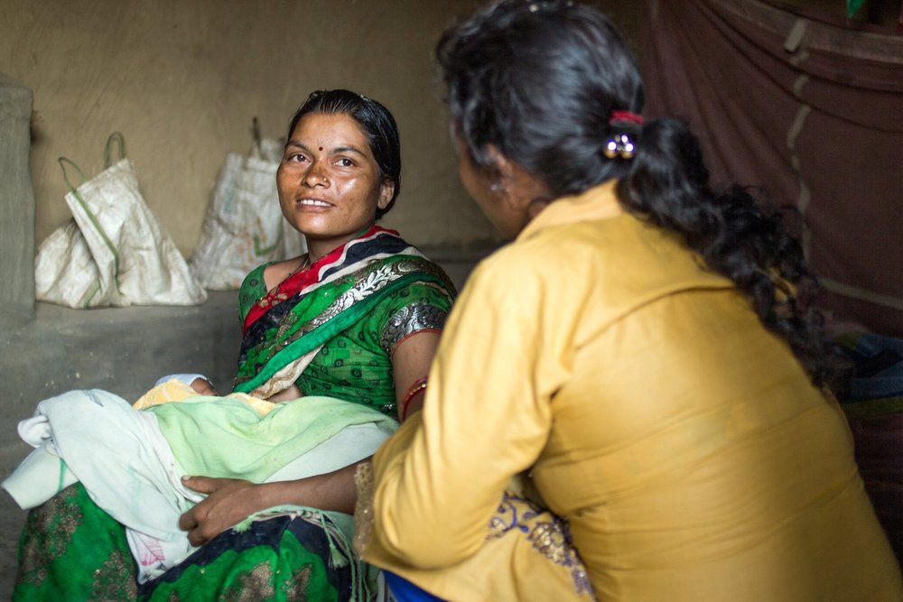 """- """"In this community, women didn't talk about health or family planning. Now, when they sit in a group of two or three, they talk about these issues openly.""""GANGOTRI CHAUDARY, RANM"""