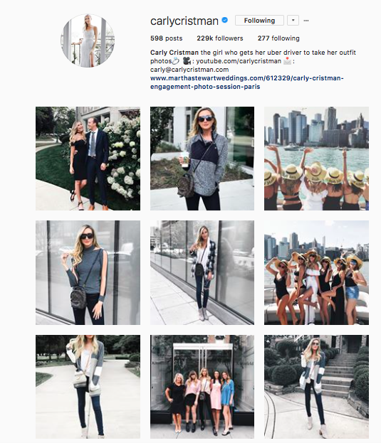 The fabulous @carlycristman offers her followers a palette full of cool, grey tones!