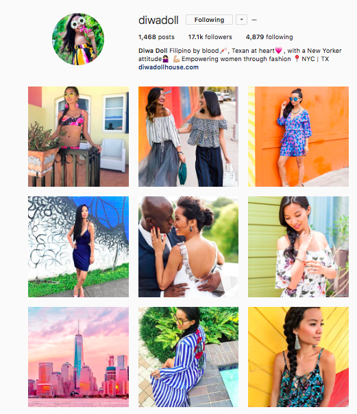 Get color happy with the big, bold hues on @diwadoll's Instagram!