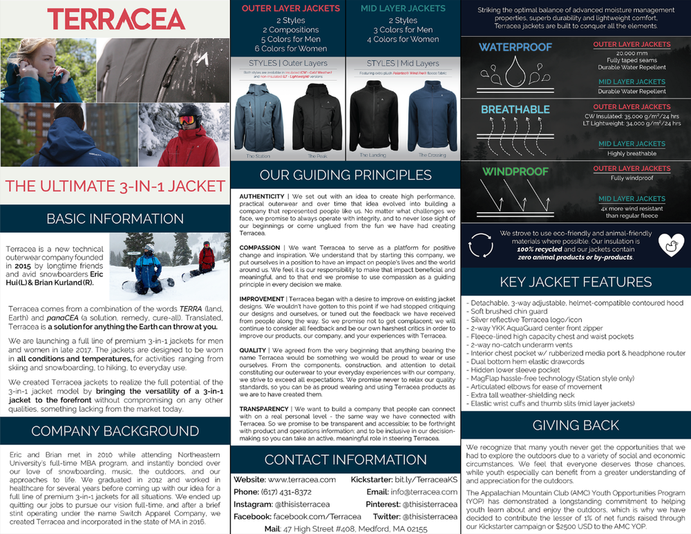 Terracea Company Factsheet