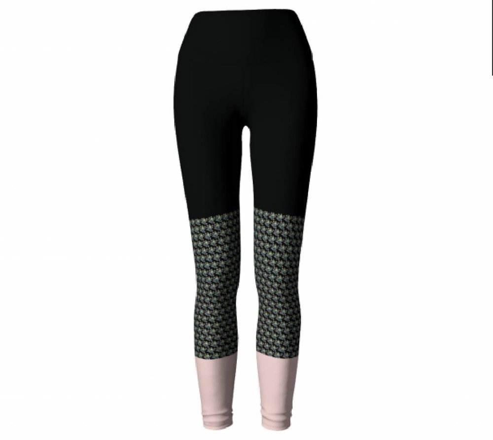 Black & Pink          Leggings, $45