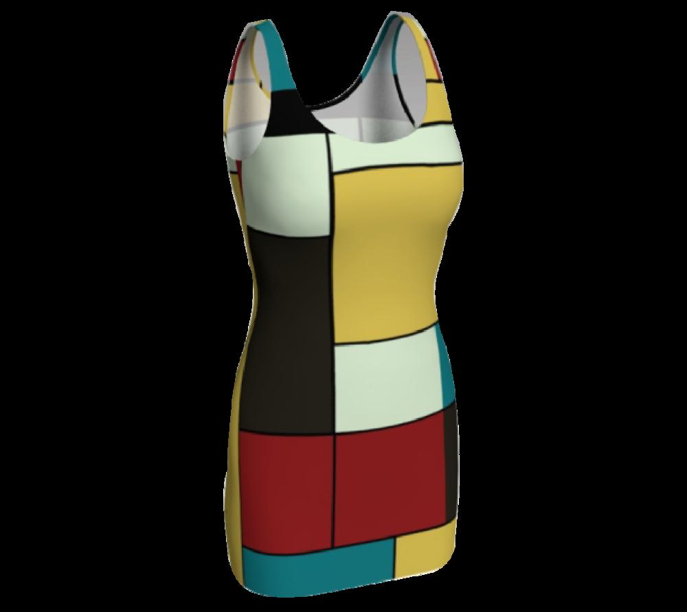 Block Print Bodycon Dress #2                $65