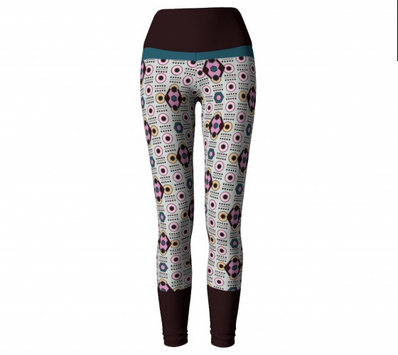 All-over Coffee   Diamond   Leggings   #2                   $45