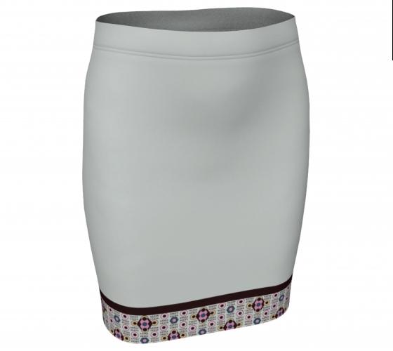 Border Diamond Skirt     #2, $30