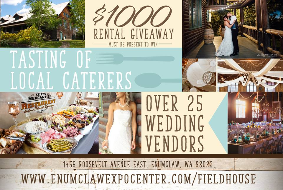 enumclaw field hosue wedding expo