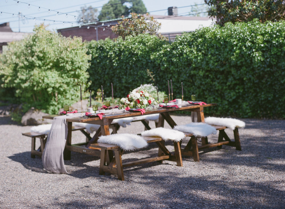 These tables! Check out Puget Sound Farm Tables for rentals from 2 very nice local folks